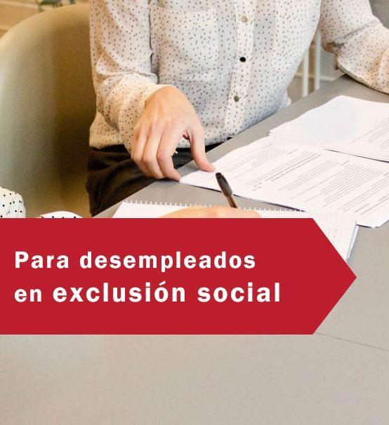 Operaciones Auxiliares de Servicios Administrativos y generales-Desempleados exclusión social